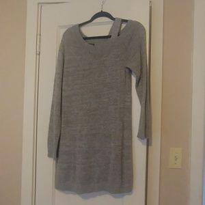 Longer Grey Light Sweater